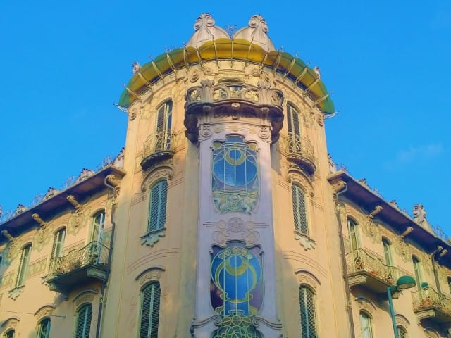 Art Nouveau in Turin