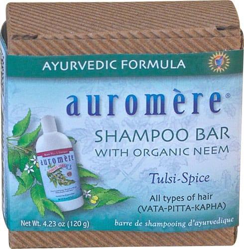 Auromere solid shampoo bar