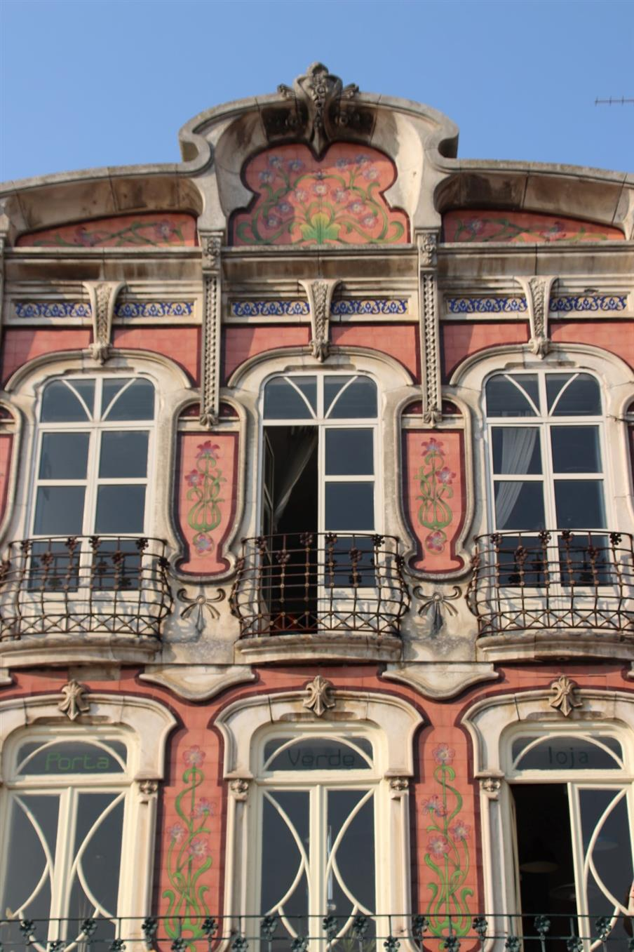Art Nouveau Architecture in Aveiro