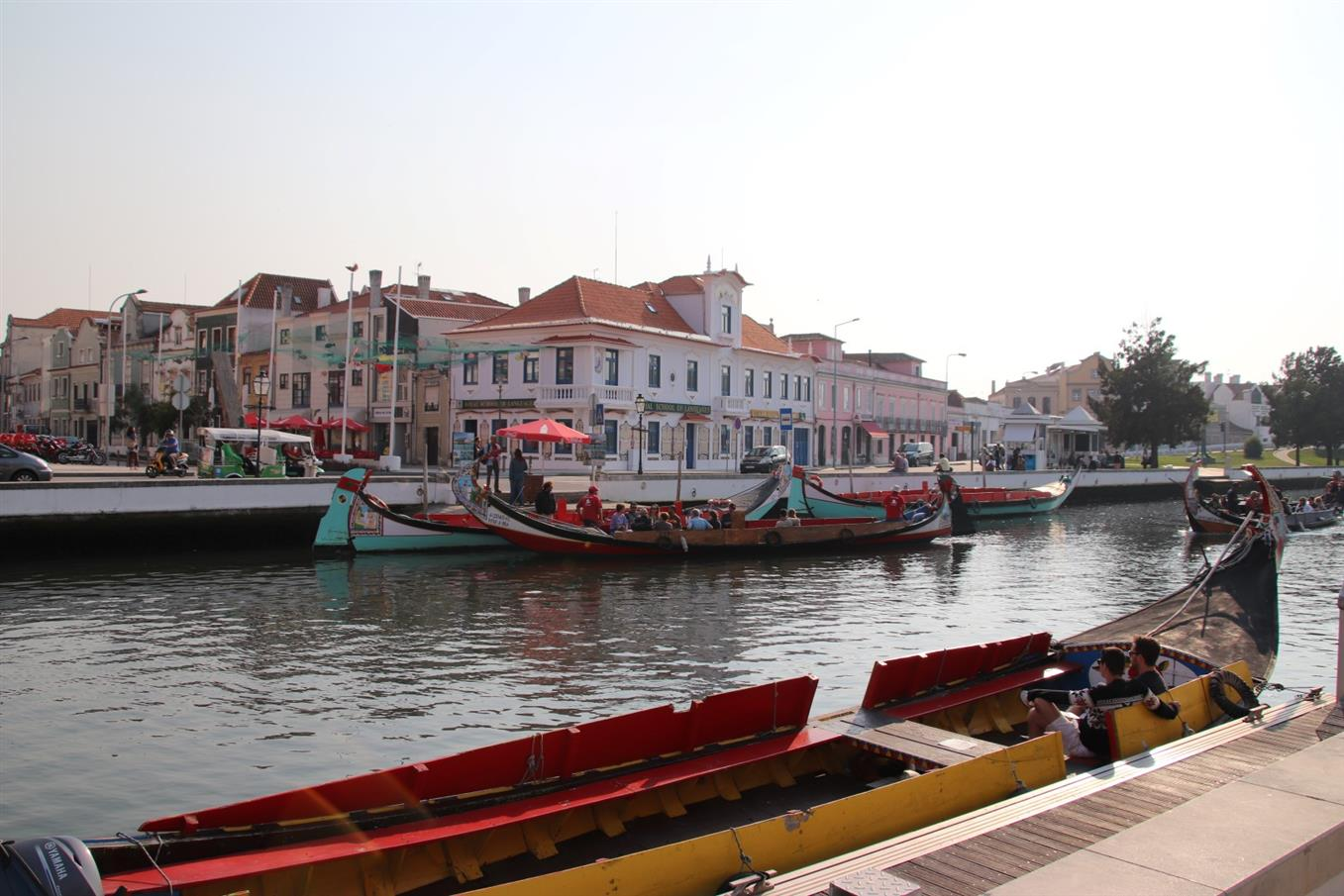 Aveiro canal boats - A typical highlight on your Aveiro day trip