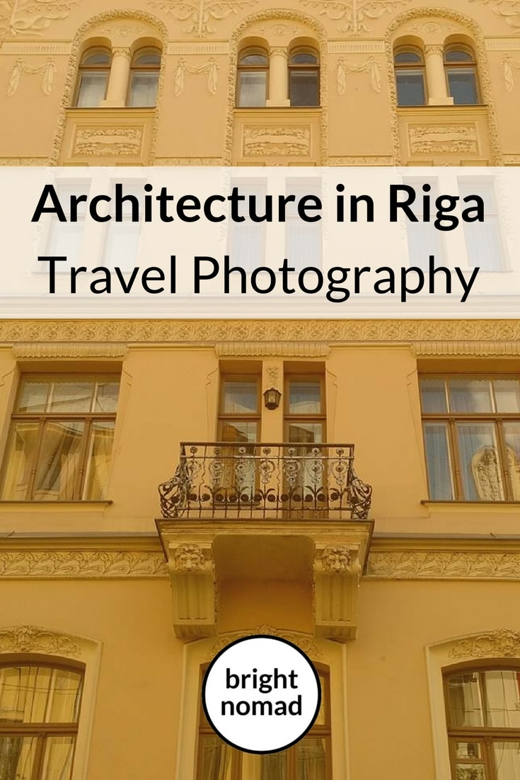 Travel Photography Architecture in Riga