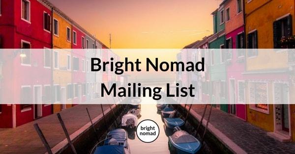 Bright Nomad Mailing List