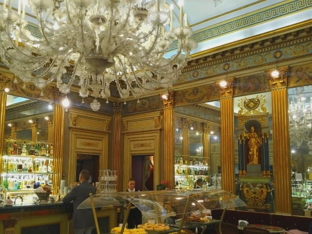 Caffe San Carlo - One of Turin's historical coffee shops