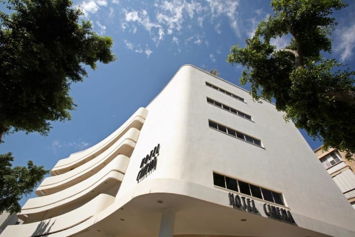 Cinema Hotel - Bauhaus Hotel in Tel Aviv