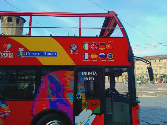 City Sightseeing bus Turin