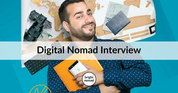 Digital Nomad Interview - work from anywhere