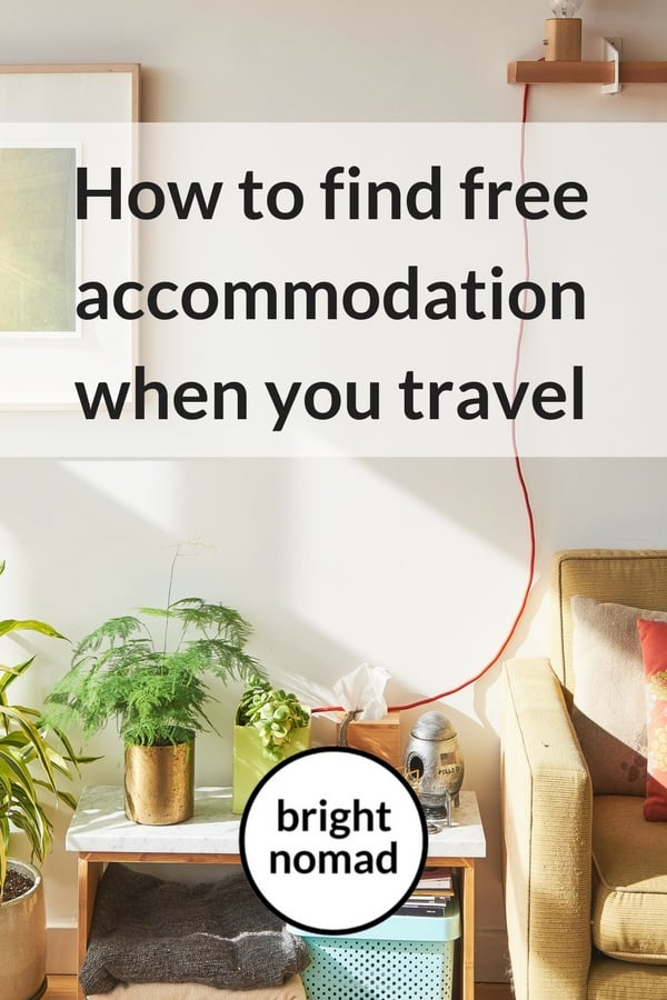 Find Free Accommodation When You Travel