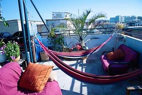 Budget hostel in Tel Aviv