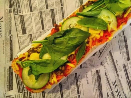 Vegan Krakow - Vegan zapiekanka