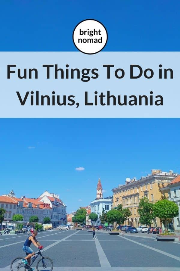 Vilnius Things To Do