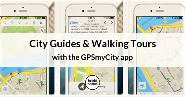 GPSmyCity app- travel articles and city walks