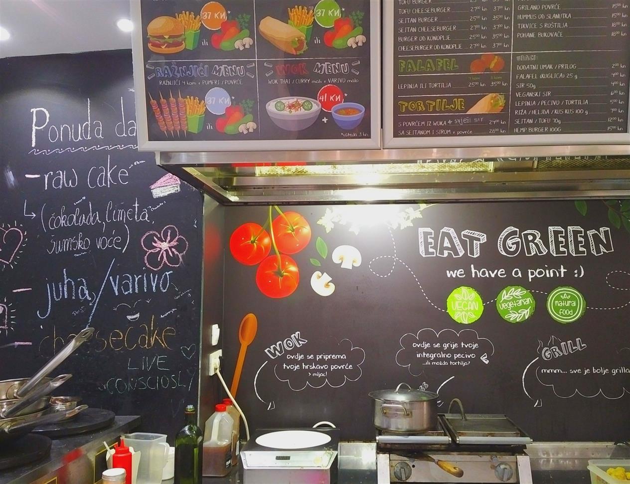 Green Point vegan restaurant Zagreb