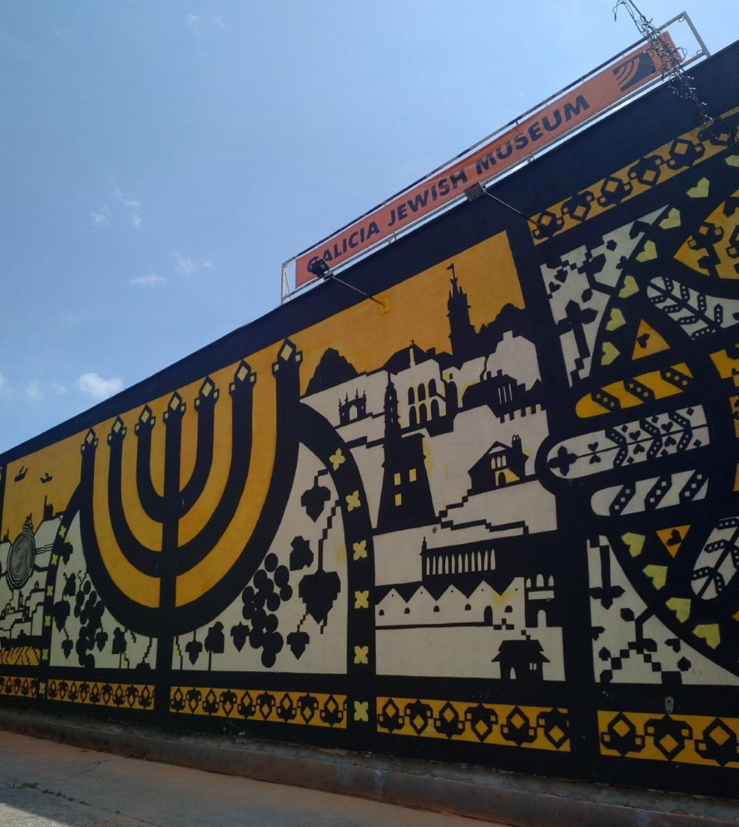 Galicia Jewish Museum - Krakow street art