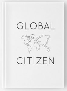 Global Citizen minimalist travel journal for digital nomads