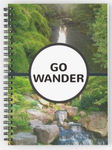 Go wander travel photo design