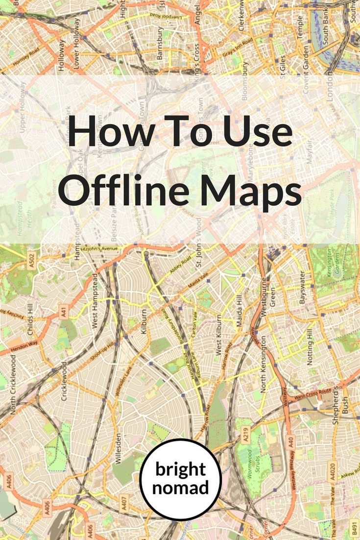 How To Use Offline Maps to plan a trip