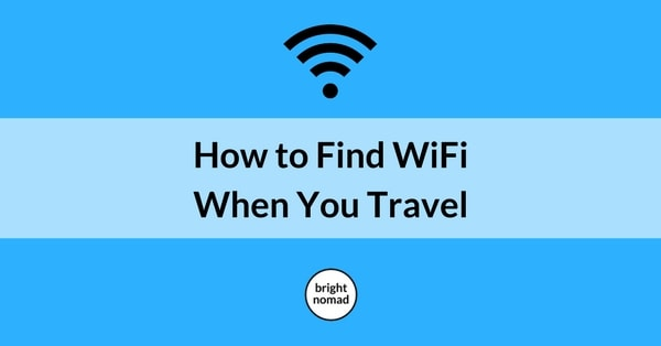 How to Find WiFi When You Travel