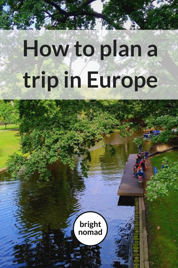 How to Plan a Trip in Europe - RoutePerfect