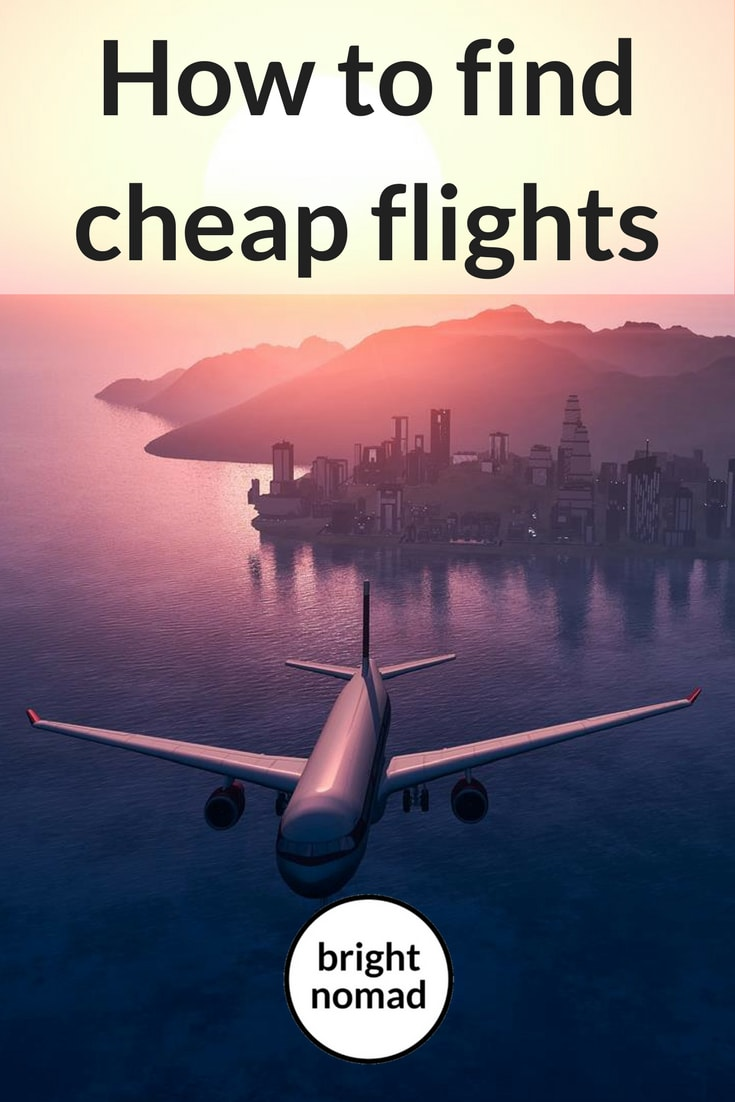 How to find cheap flights - save money on flights