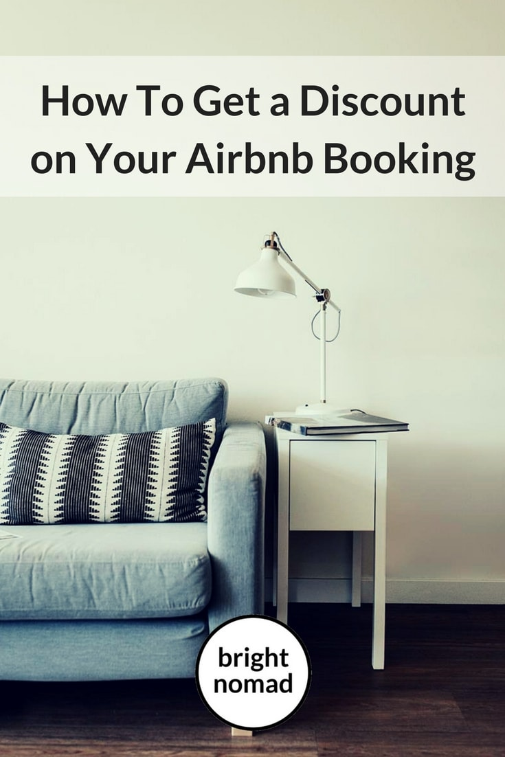How to get a discount on your Airbnb accommodation booking
