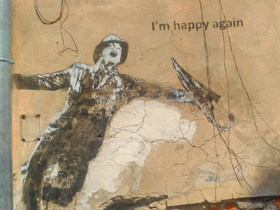 I'm happy again by trololo - Krakow street art