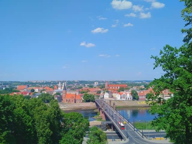 Kaunas from above - Aleksotas Funicular