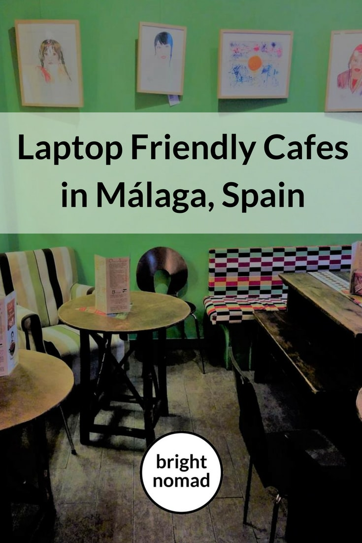 Laptop Friendly Cafes in Malaga Spain