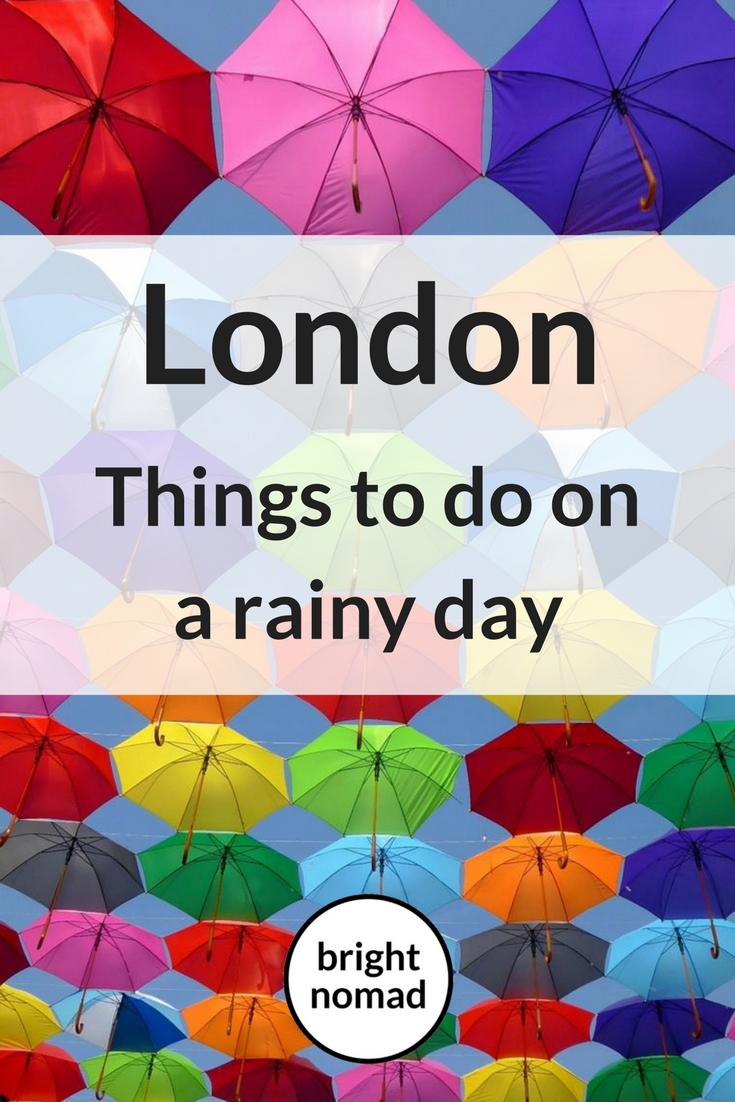 London guide for a rainy day