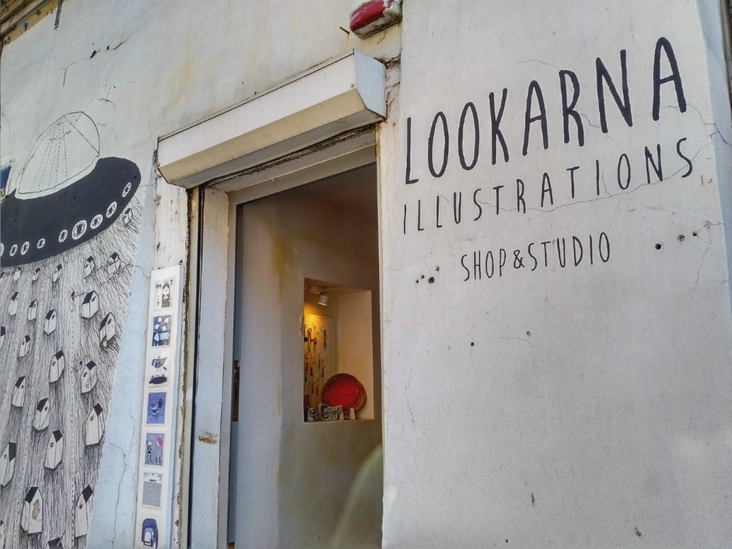 Lookarna Illustrations Krakow