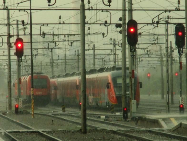 Train Station - Ljubljana, Slovania