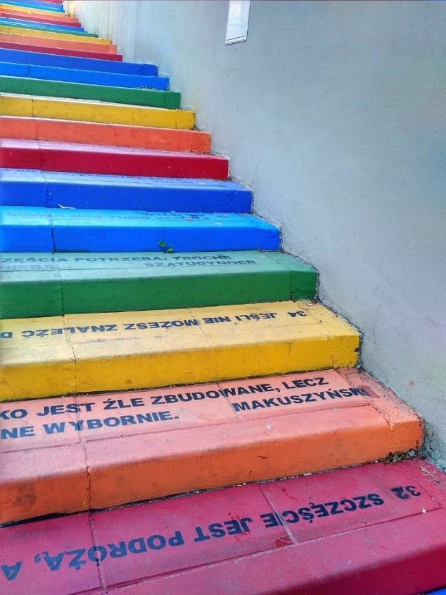 Rainbow Steps Quotes