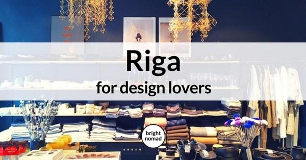 Riga Design Shopping Guide