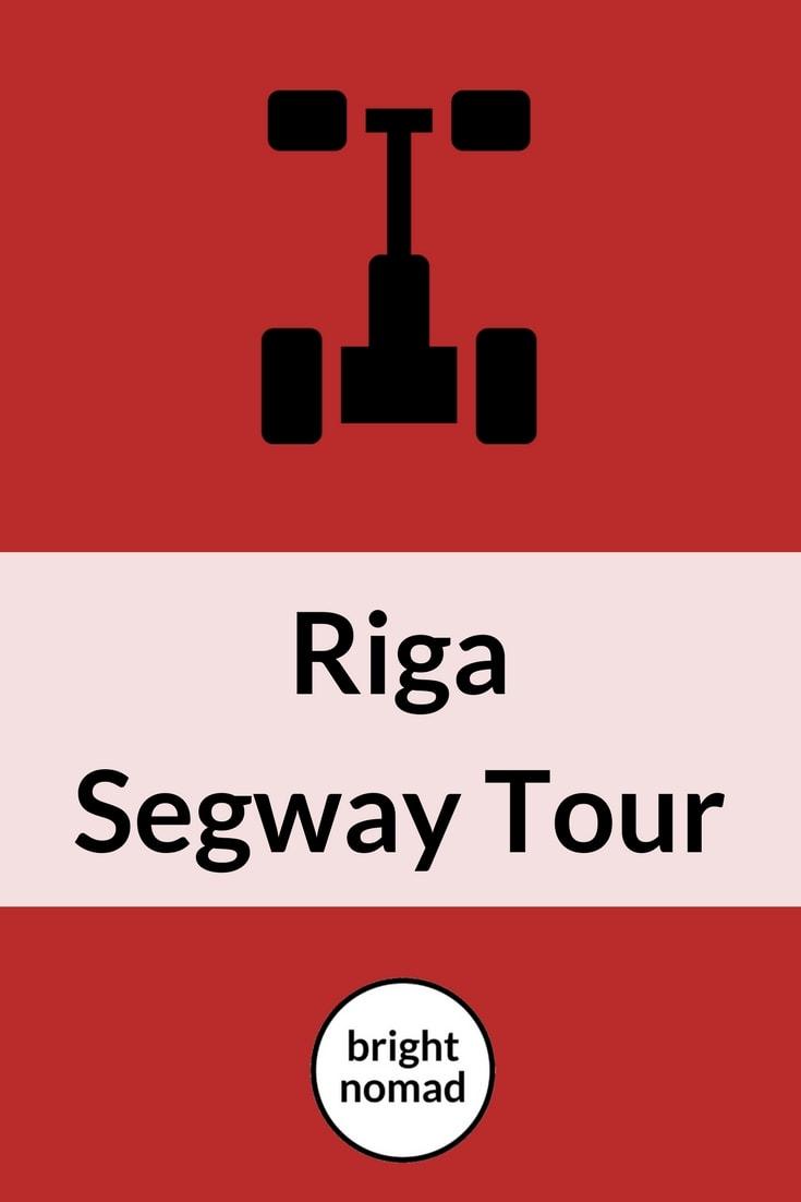 Riga Latvia Segway Tour