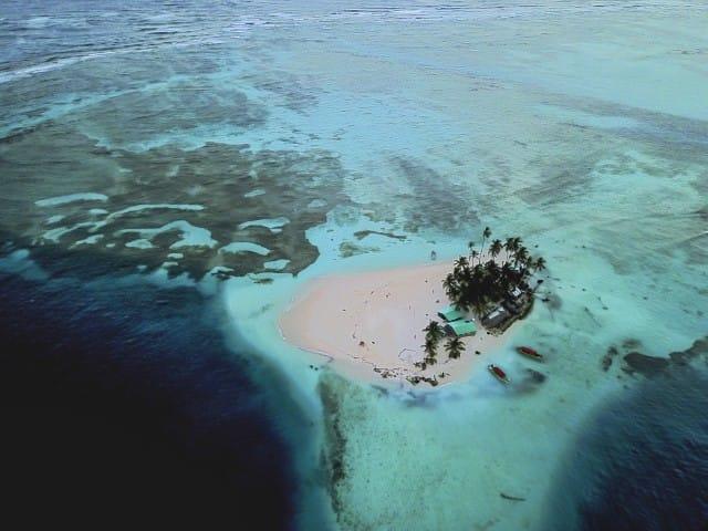 San Blas Islands drone pgoto
