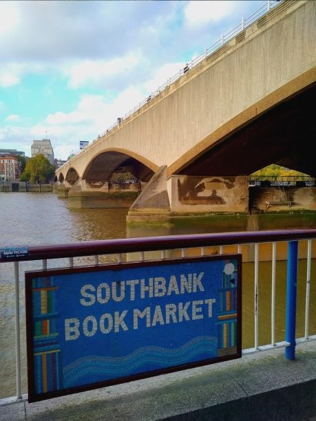 South Bank Book Market London