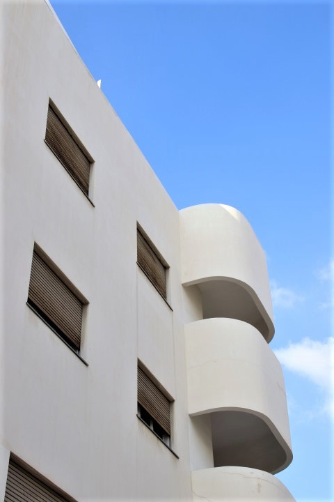 Bruno House in Tel Aviv - Bauhaus style architecture