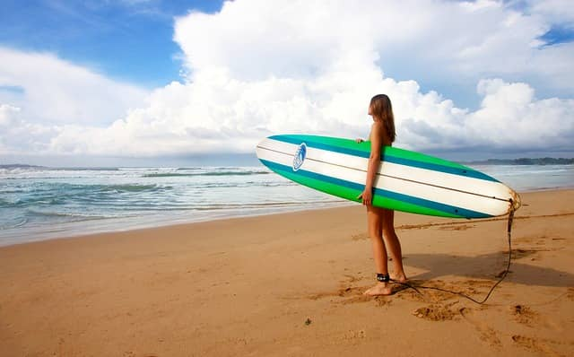 Surfer girl - learn to surf around the world with Airbnb Experiences