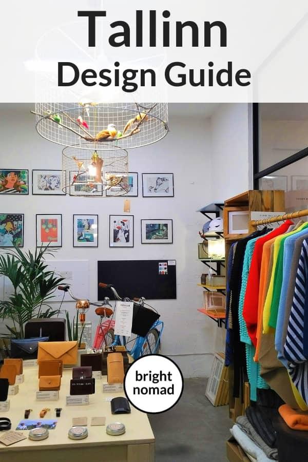 Tallinn Design Guide - The Best Shops & Boutique Hotels