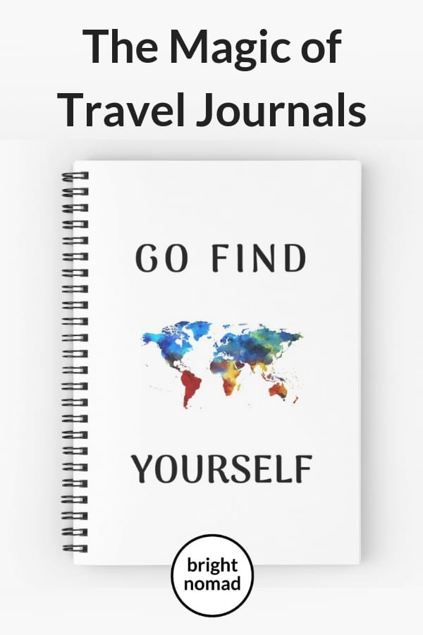 The Magic of Travel Journals - notebooks for travellers
