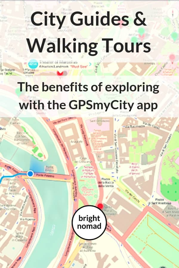 The benefits of exploring a city with the GPSmyCity app