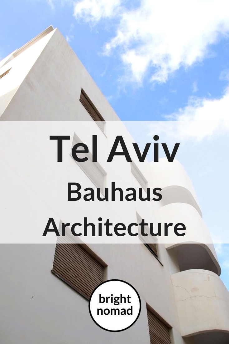 Travel Photography Bauhaus Architecture in Tel Aviv