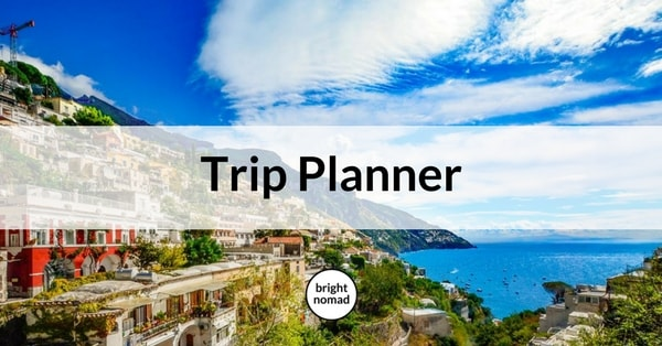 Trip Planner - create an itinerary for a European trip