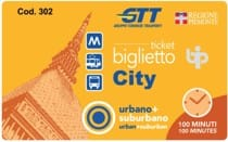Turin public transport ticket