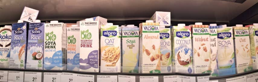Vegan Supermarket Finds in Kaunas - Plant Based Milk