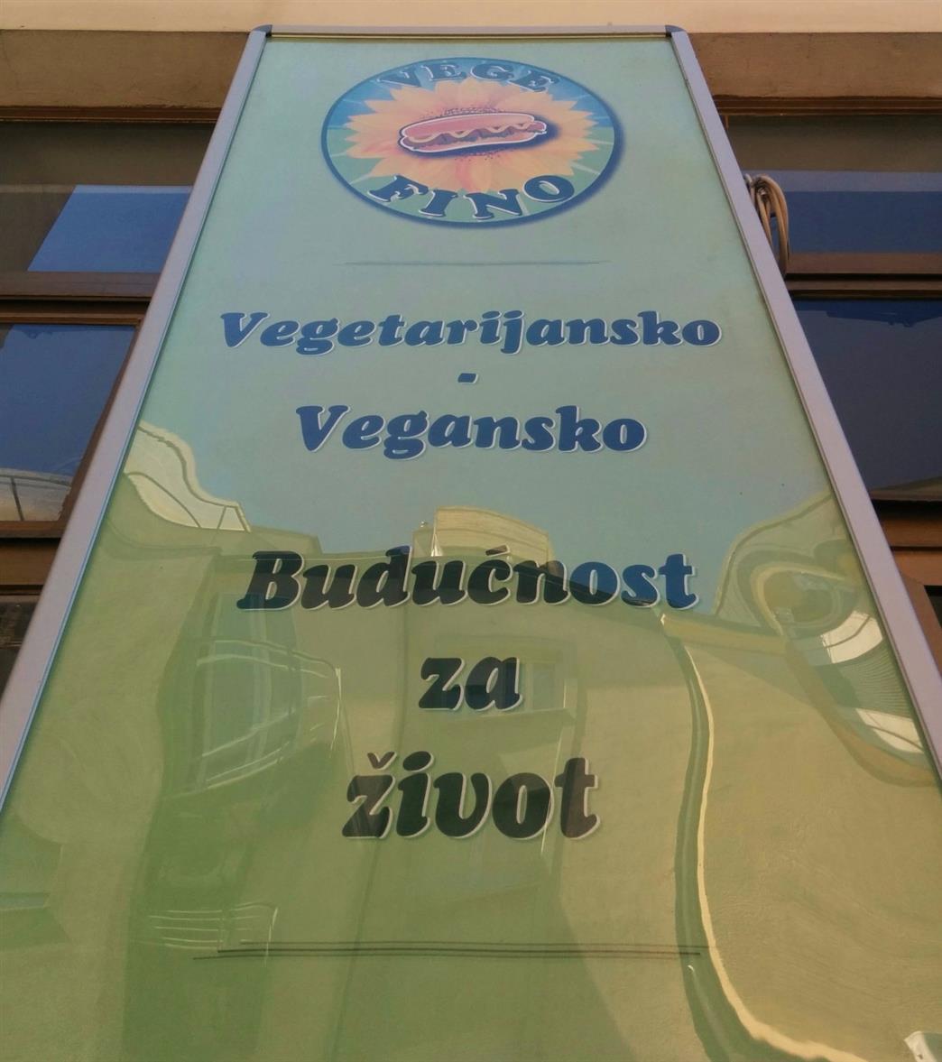 Vege Fino vegan restaurant Zagreb