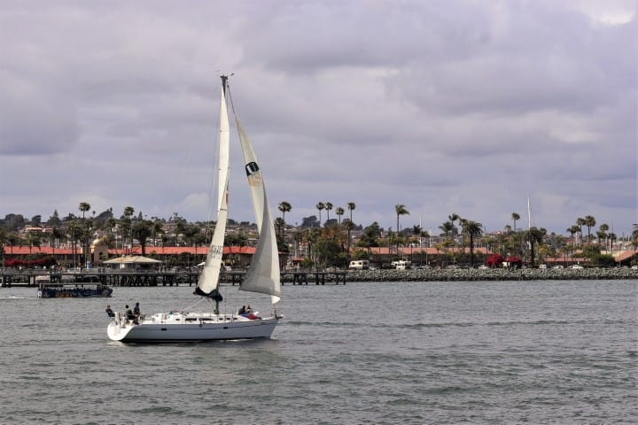 View from the boat tour in San Diego