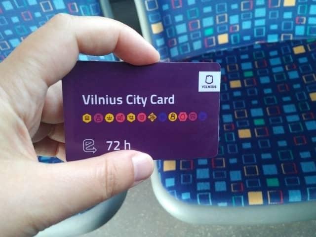 Vilnius city pass