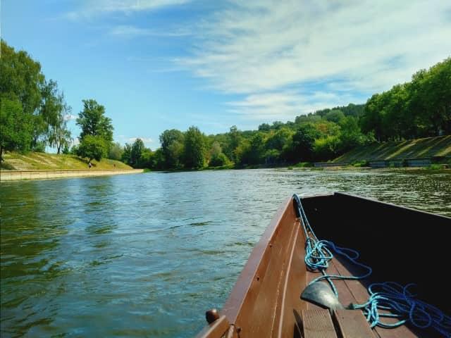 Vilnius Gondola Boat Trip