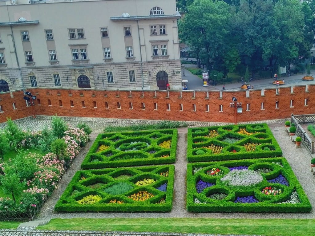 Wawel Castle Gardens Krakow