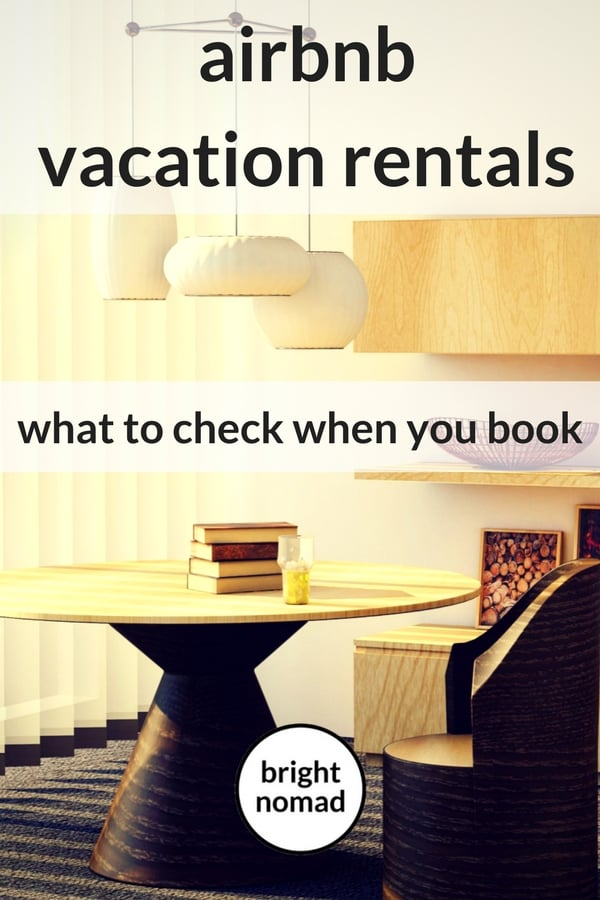 What to Check When You Book Accommodation on Airbnb - travel planning tips